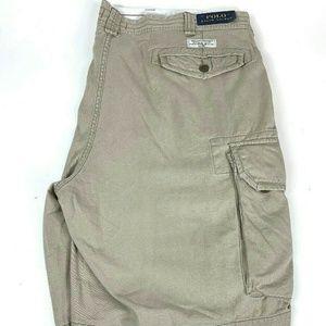Polo Ralph Lauren Men's Khaki Cargo Shorts 46W